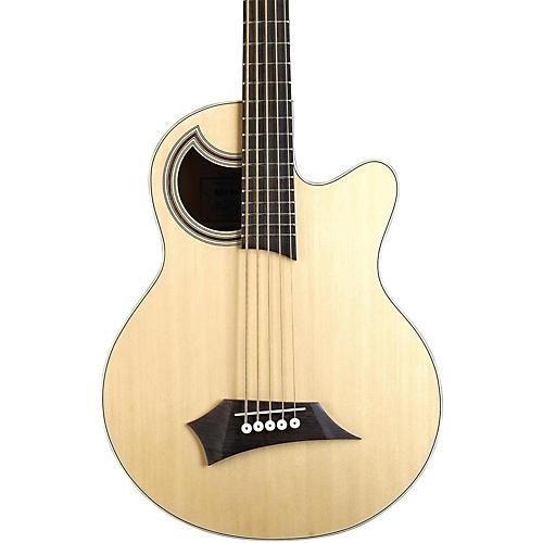 RockBass by Warwick RockBass Alien Standard 5-String Acoustic-Electric Bass Guitar-thumbnail