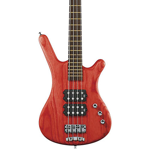 Warwick RockBass Corvette $$ 4-String Electric Bass Burgundy Red Oil