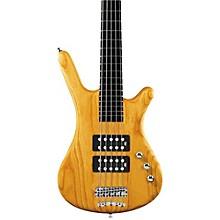 Warwick RockBass Corvette $$ 5-String Electric Bass Level 1 Honey Violin