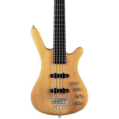 Warwick RockBass Corvette Basic Passive 5-String Electric Bass Natural