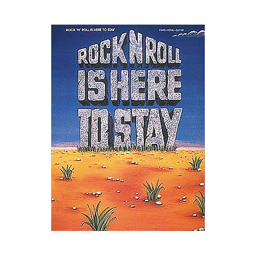 Hal Leonard Rock'N'Roll Is Here To Stay Piano/Vocal/Guitar Songbook-thumbnail