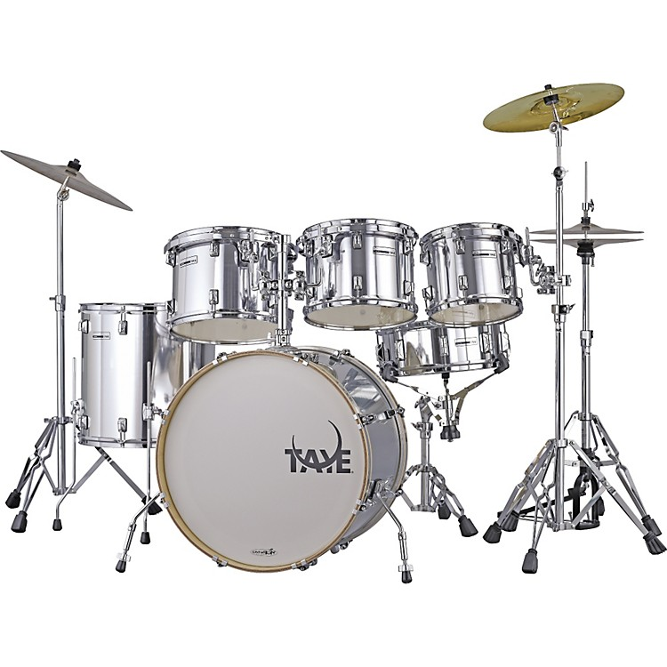 Taye Drums RockPro RP622C Limited Edition 6-Piece Drum Set Chrome