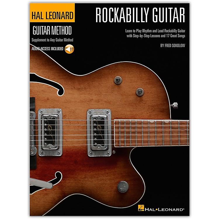 Hal LeonardRockabilly Guitar - Stylistic Supplement To The Hal Leonard Guitar Method Bk/CD