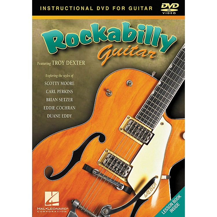 Hal Leonard Rockabilly Guitar DVD