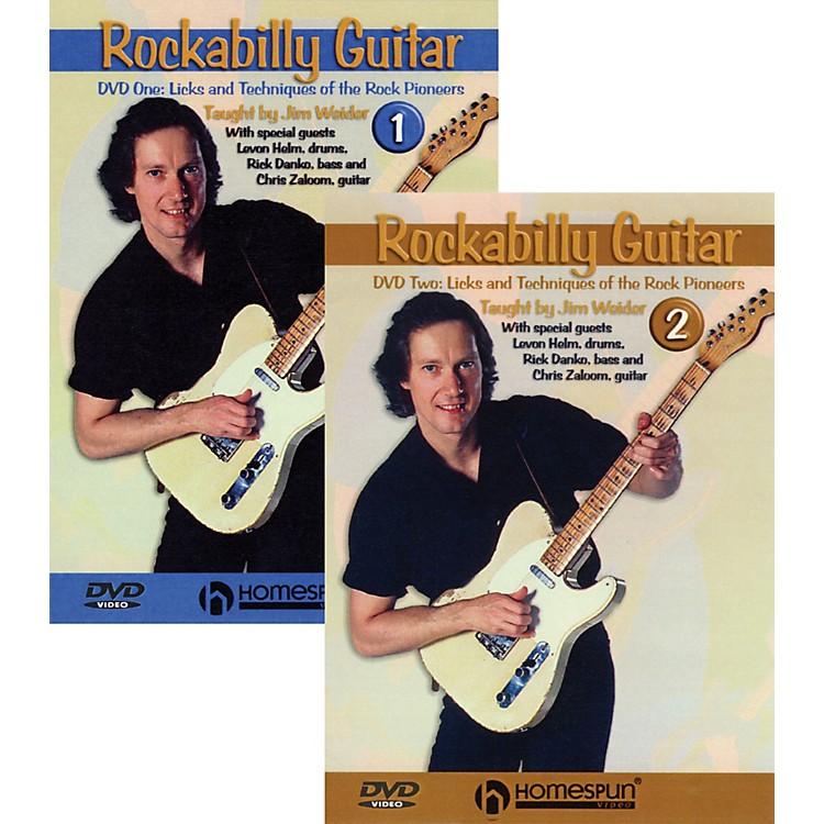 HomespunRockabilly Guitar with Jim Weider 2 DVD Set