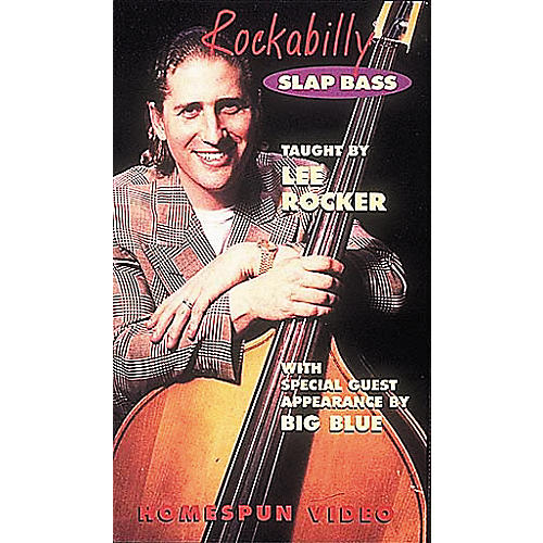 Hal Leonard Rockabilly Slap Bass Video