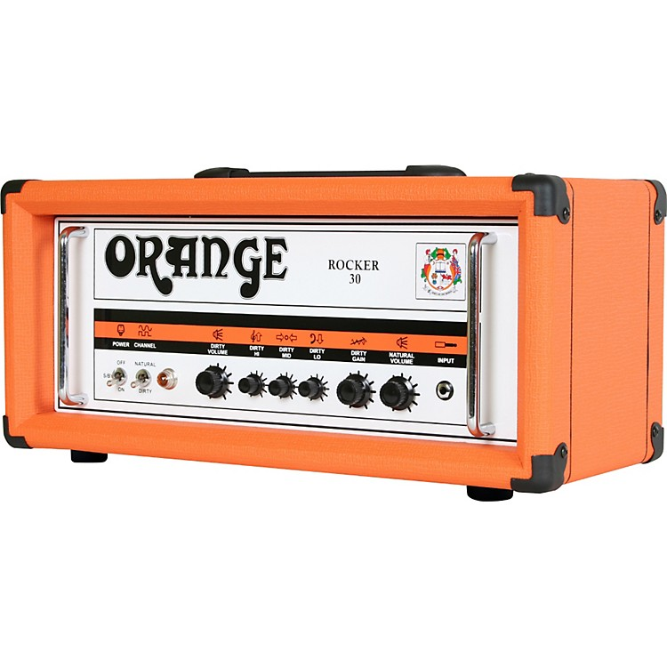 Orange Amplifiers Rocker 30 Series RK30HTC 30W Tube Guitar Amp Head