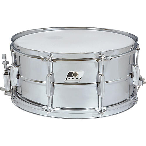 Ludwig Rocker Steel Shell Snare Drum