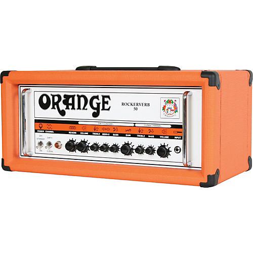 Orange Amplifiers Rockerverb 50 RK50HTC 50W Tube Guitar Amp Head-thumbnail