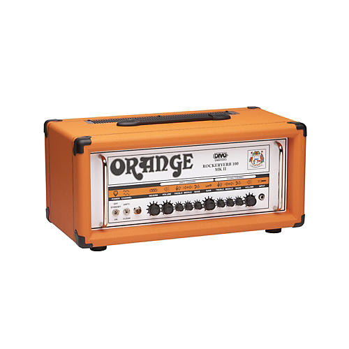 Orange Amplifiers Rockerverb RK100H MKII 100W DIVO Fitted Tube Guitar Amp Head