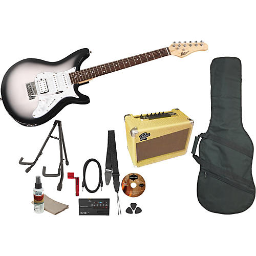 Rogue Rocketeer Deluxe Electric Guitar Pack-thumbnail