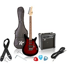 Rocketeer Electric Guitar Pack Red Burst