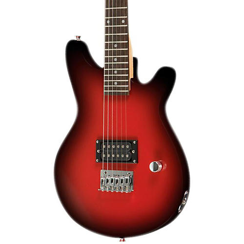 Rogue Rocketeer RR50 7/8 Scale Electric Guitar Red Burst