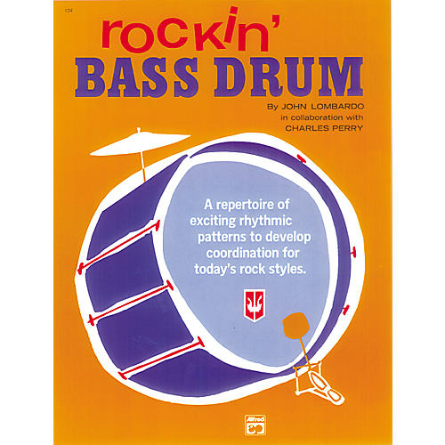 Alfred Rockin' Bass Drum Book 1-thumbnail