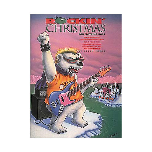 Centerstream Publishing Rockin' Christmas For 5-String Bass (Book/CD)-thumbnail