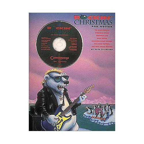 Centerstream Publishing Rockin' Christmas for Guitar (Book/CD)