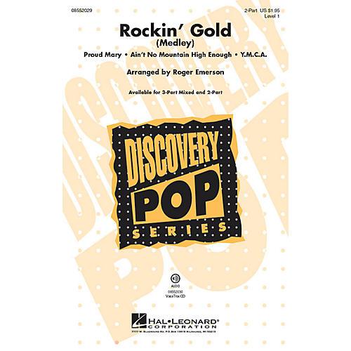 Hal Leonard Rockin' Gold (Medley) 2-Part arranged by Roger Emerson-thumbnail