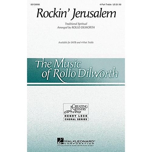 Hal Leonard Rockin' Jerusalem 4 Part Treble arranged by Rollo Dilworth-thumbnail