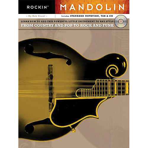 Music Sales Rockin' Mandolin Music Sales America Series Softcover with CD Written by Bob Grant