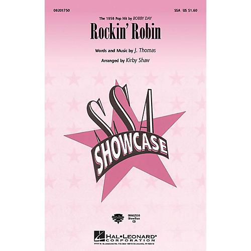 Hal Leonard Rockin' Robin SSA by Bobby Day arranged by Kirby Shaw-thumbnail