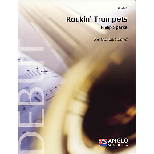 Anglo Music Press Rockin' Trumpets (Grade 2 - Score Only) Concert Band Level 2 Composed by Philip Sparke-thumbnail