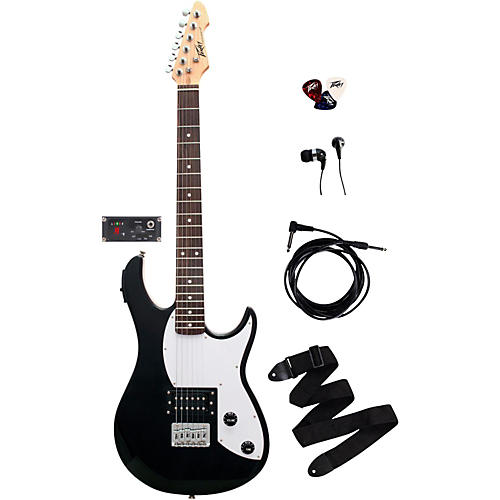 Peavey Rockmaster 5-in-1 Electric Guitar Pack Black