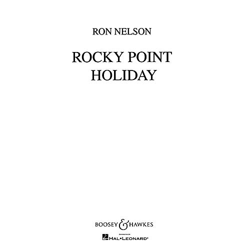 Boosey and Hawkes Rocky Point Holiday (Score and Parts) Concert Band Composed by Ron Nelson