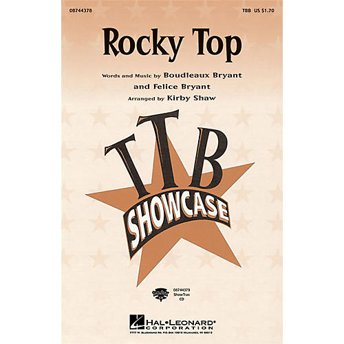 Hal Leonard Rocky Top ShowTrax CD Arranged by Kirby Shaw