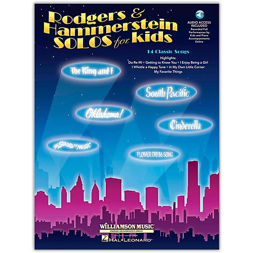 Hal Leonard Rodgers & Hammerstein Solos for Kids (Book/Online Audio)-thumbnail