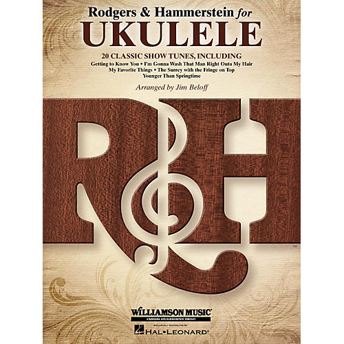 Hal Leonard Rodgers & Hammerstein for Ukulele Ukulele Series Softcover