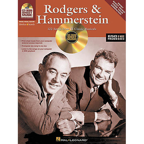 Hal Leonard Rodgers and Hammerstein - 122 Songs from 11 Classic Musicals (CD-ROM)