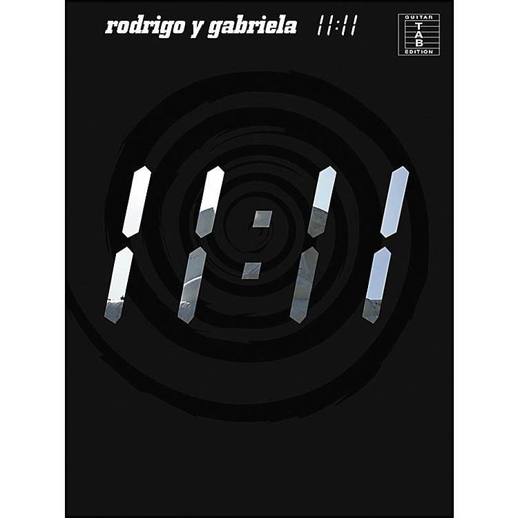 Music SalesRodrigo Y Gabriela - 11:11 Tab Book