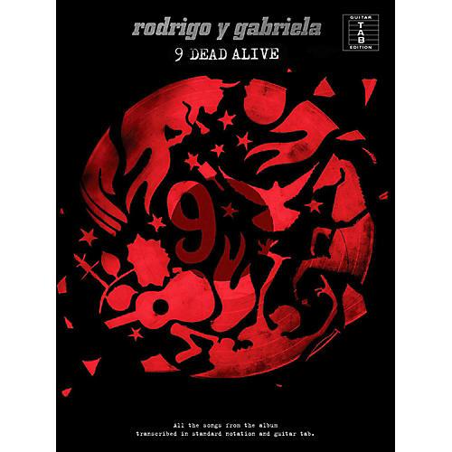 Music Sales Rodrigo y Gabriela - 9 Dead Alive Guitar Tab Songbook-thumbnail