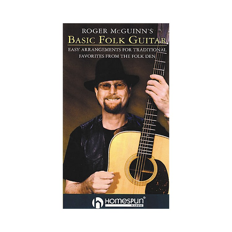 HomespunRoger McGuinn's Basic Folk Guitar (VHS)