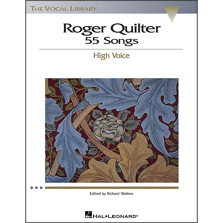 Hal LeonardRoger Quilter - 55 Songs for High Voice (The Vocal Library Series)