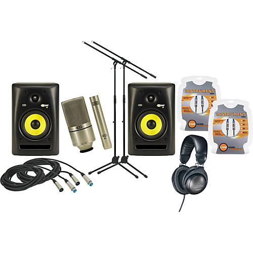 KRK Rokit Powered 6 G2 Package