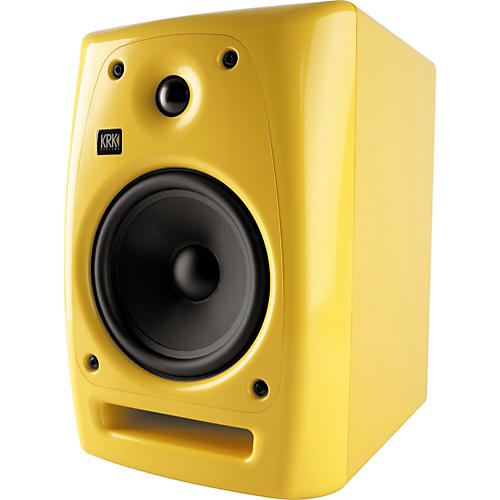 KRK Rokit Powered 6 Generation 2 Studio Monitor Limited Edition Glossy Yellow