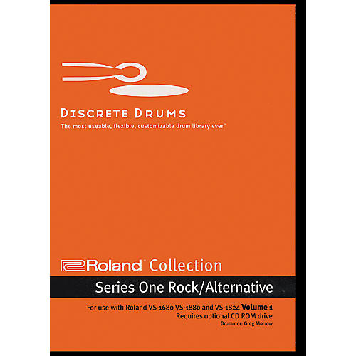 Discrete Drums Roland Collection Series One Rock/Alternative Volume 1 CD-ROM-thumbnail