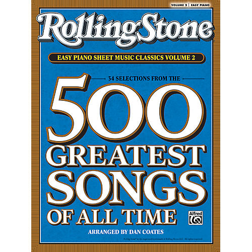Alfred Rolling Stone Easy Piano Sheet Music Classics Volume 2 (Book)