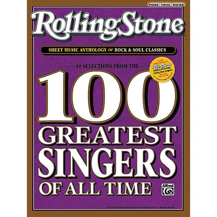 AlfredRolling Stone Sheet Music Anthology of Rock & Soul Classics (Book)