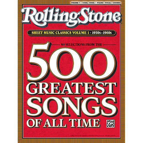 Alfred Rolling Stone Sheet Music Classics Volume 1: 1950s-1960s (Music Book)