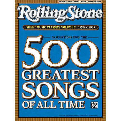 Alfred Rolling Stone Sheet Music Classics Volume 2: 1970s-1990s Piano, Vocal of Guitar Book-thumbnail