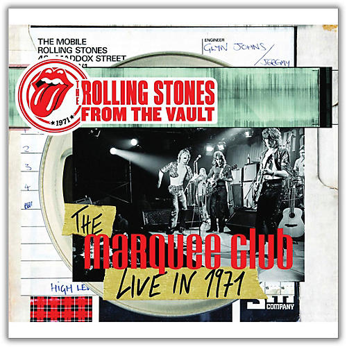 Universal Music Group Rolling Stones - From The Vault - The Marquee Club Live in 1971 Limited Edition [DVD / LP]-thumbnail