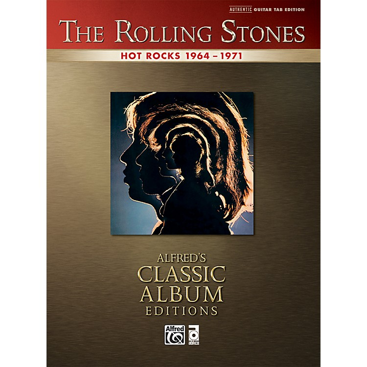 Alfred Rolling Stones - Hot Rocks Guitar Tab Book