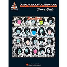 Hal Leonard Rolling Stones - Some Girls Guitar Recorded Version Series Softcover Performed by Rolling Stones