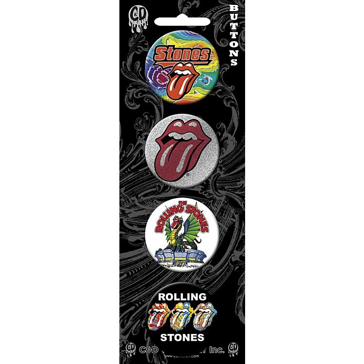 C&D VisionaryRolling Stones Button Set (4 Piece)