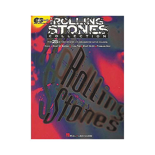 Hal Leonard Rolling Stones Collection Easy Guitar Tab Book