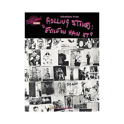 Hal Leonard Rolling Stones Exile on Main Street Transcribed Score Book