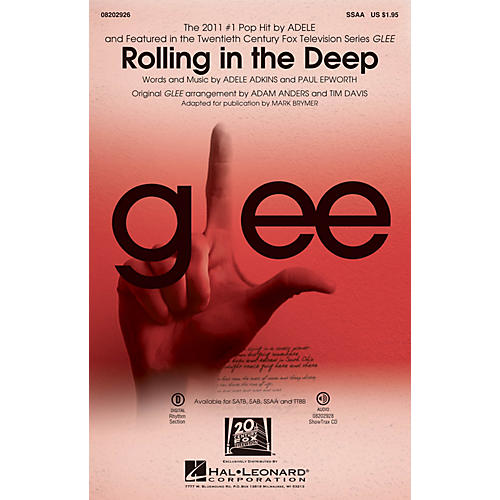 Hal Leonard Rolling in the Deep SSAA by Adele arranged by Adam Anders-thumbnail