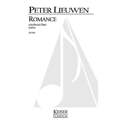 Lauren Keiser Music Publishing Romance for Piano Trio LKM Music Series Composed by Peter Lieuwen-thumbnail